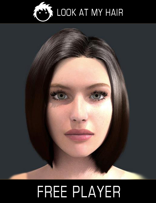 Look At My Hair for DAZ 3D promo image