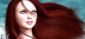 Beautiful red head created by Alia with Look At My Hair