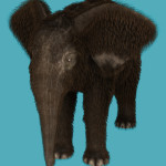 Baby Mammoth fur for Daz Baby Elephant