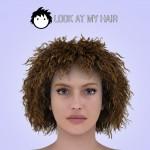 Crispy hair preset