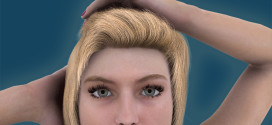 Human renders: female example
