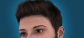 Human renders: male example